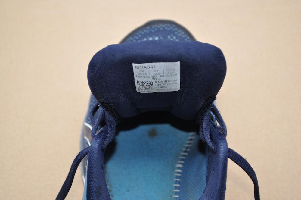 Внутренняя часть кроссовка ASICS GEL-Kayano 26 после пробега в 1000 км