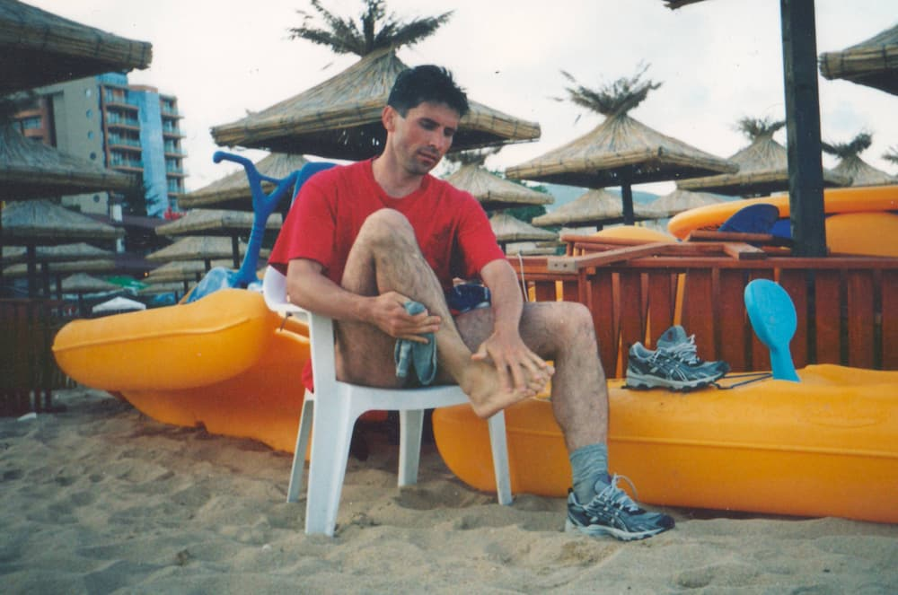 2004 год, Болгария, Варна. Впервые в жизни бегу в кроссовках ASICS